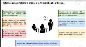 The New Exam Pattern of The NEP 2020.